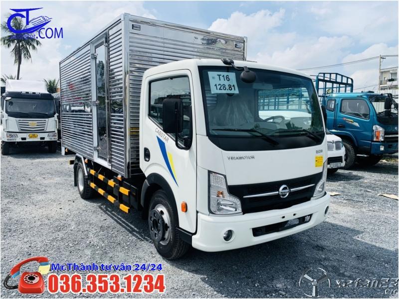 Xe tải Nissan 1,9 tấn thùng Kín 4m3, Giá cực mềm cho ae bung tết