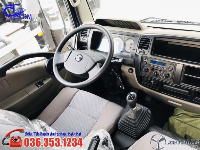 Xe tải Nissan 3t5 thùng mui bạt. Khuyến mại khủng cho ae về chạy tết