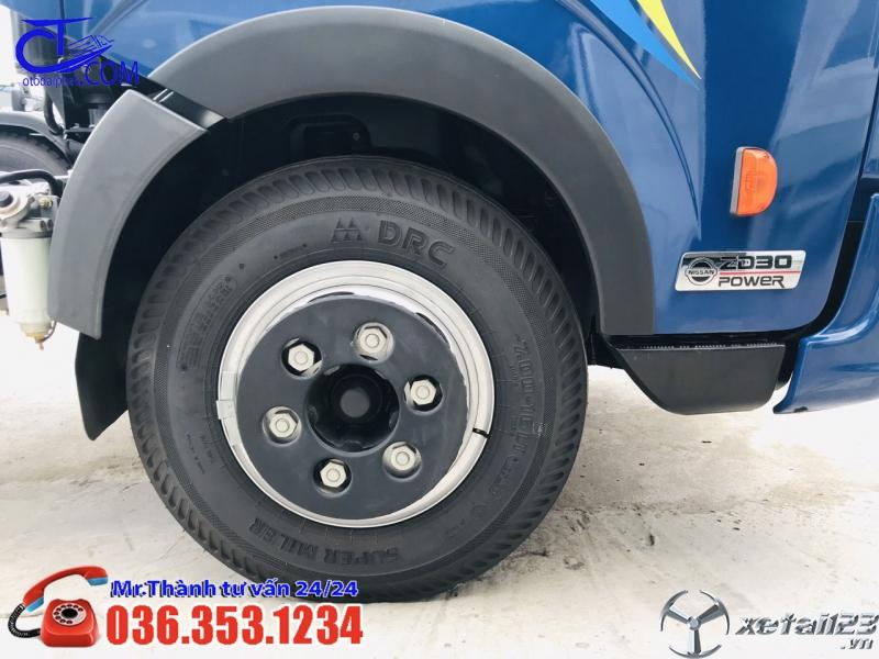 Xe tải Vinamotor 1,9 tấn,thùng bạt 4m3. Hỗ trợ trả góp lãi suất cực thấp