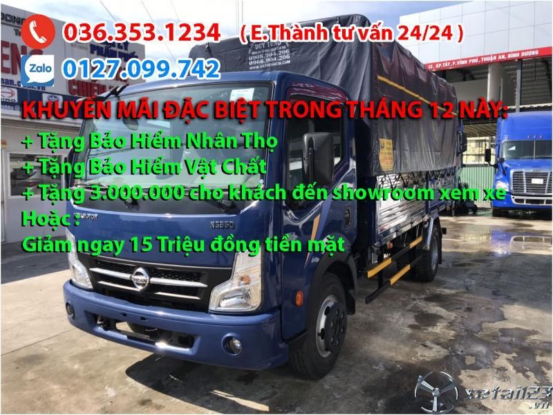 Xe tải Vinamotor Nissan 3t5, có đáng mua so với giá tiền?