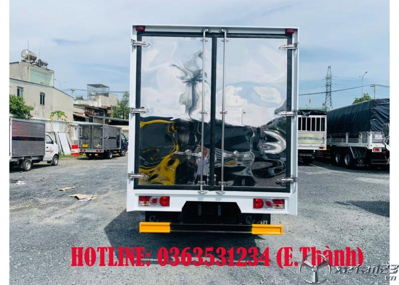 Bán xe tải vinamotor 1,9 tấn, thùng kín, Trả trước 90tr nhận xe ngay