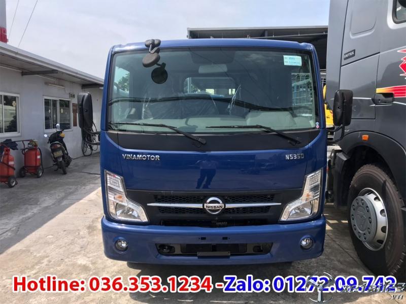 Bán xe tải Vinamotor cabstar 3,5T thùng bạt, giá cực ưu đãi