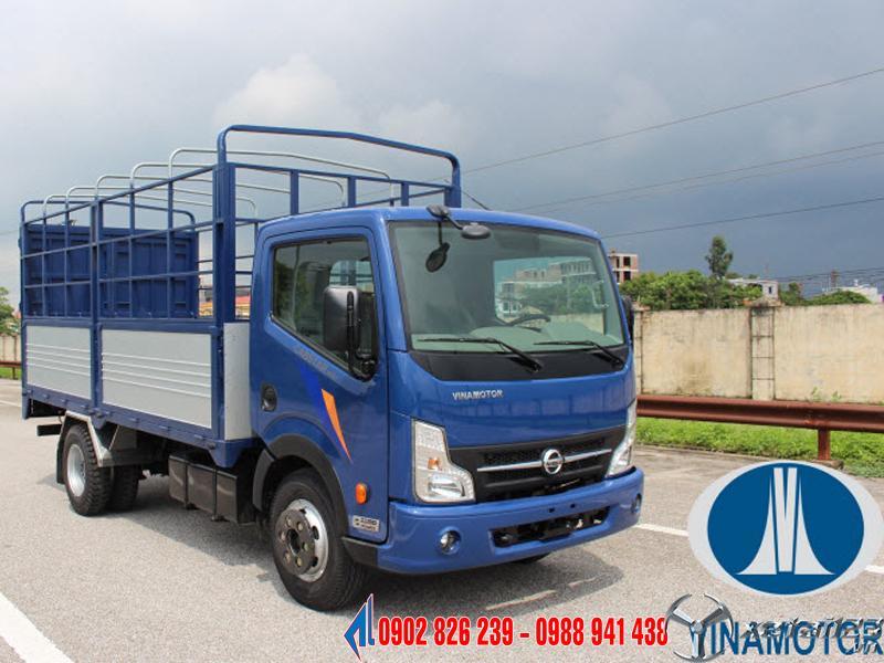 Giá xe tải nissan 1 tấn 9 thùng mui bạt