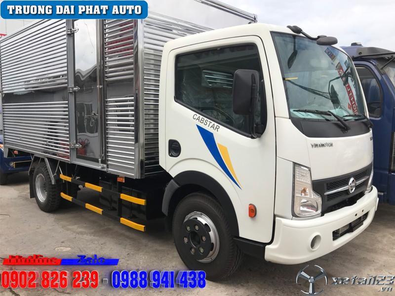 Giá xe tải vinamotor 1.9 tấn thùng bạt trả trước 100tr