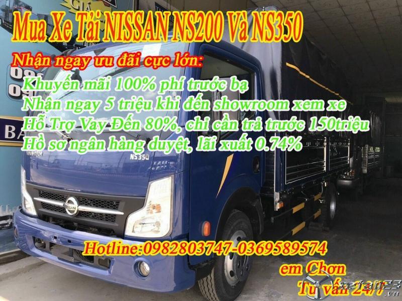 Xe Tải Nissan 3.5 Tấn  Giá Tốt 0982803747 0369589574