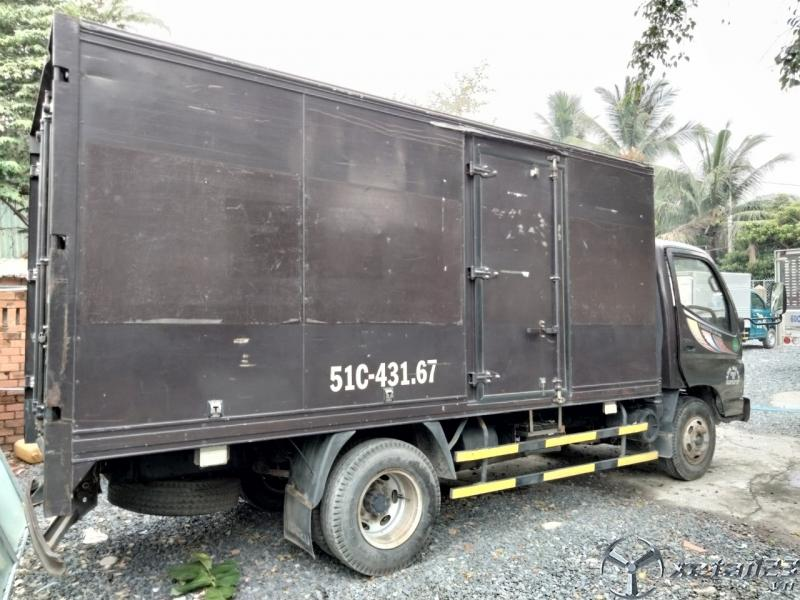 Xe Tải Cũ Thaco onlin 1t6 thùng kín đời 2014