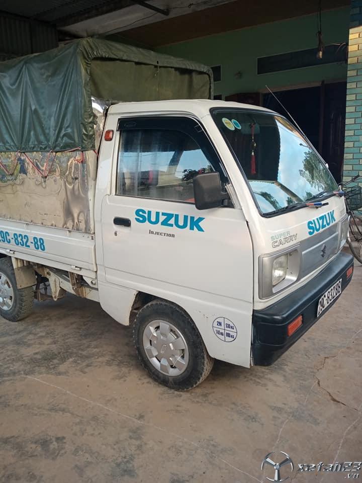 Xe tải Suzuki 5 tạ đời 2009 thùng mui bạt đã qua sử dụng cần bán giá 94 triệu
