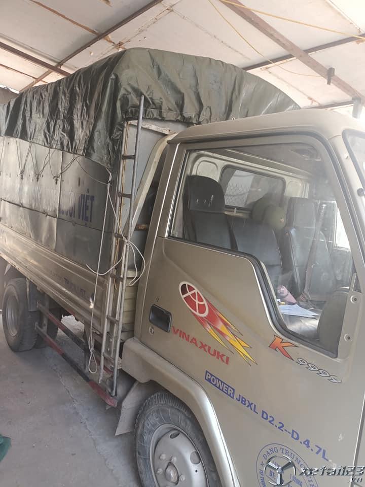 Bán gấp xe tải Vinaxuki 1 tấn đời 2008 thùng mui bạt với giá 55 triệu