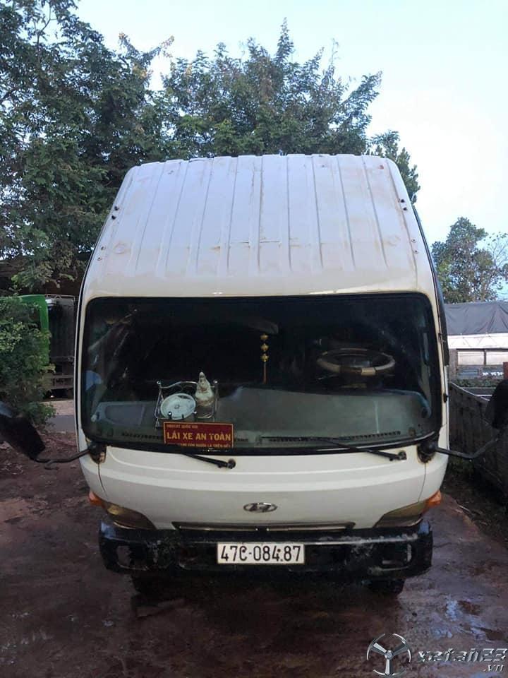 Thanh lý gấp xe Hyundai Mighty II 1,9 tấn đời 1999 thùng mui bạt