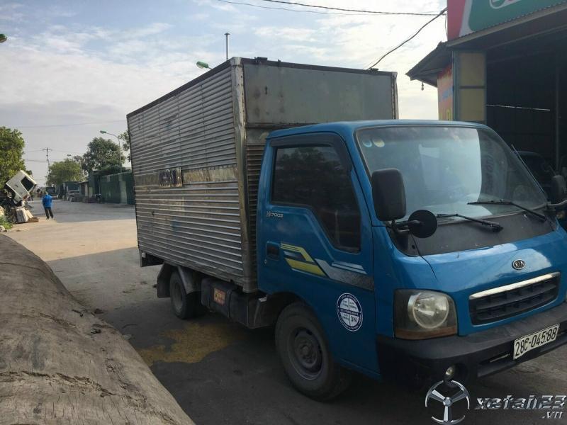 Cần bán gấp xe Kia K2700II đời 2004 phiên bản thùng kín