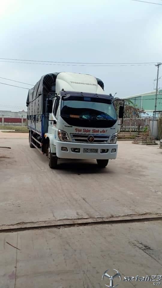 Xe Thaco Ollin 950A 9,5 tấn đời 2016 thùng mui bạt cần bán giá 435 triệu