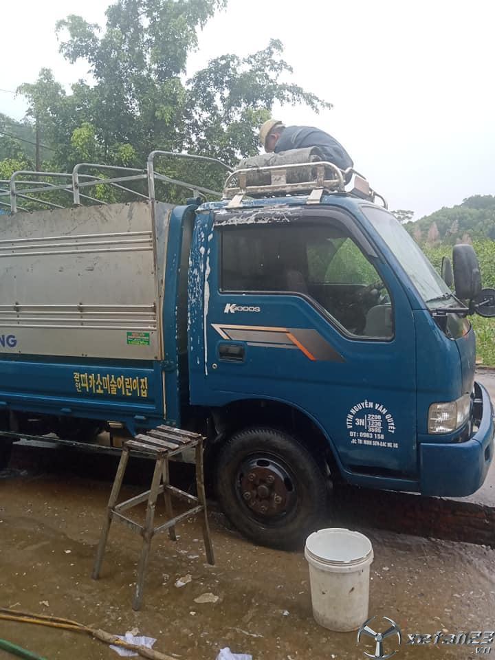 Bán Kia K3000S 1,2 tấn đời 2013 thùng mui bạt giá 230 triệu