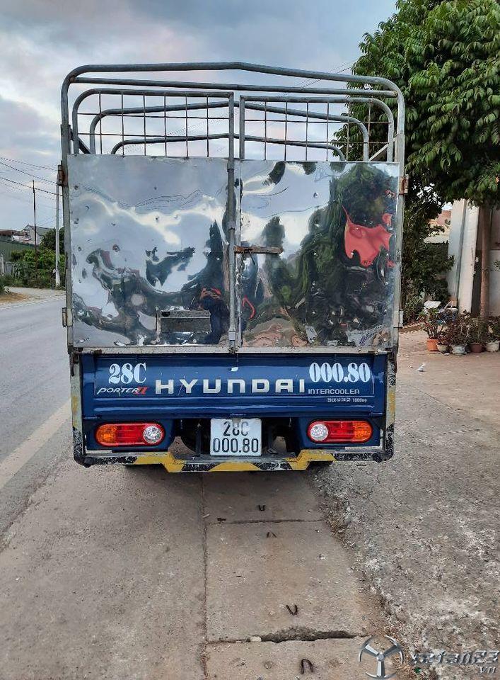 Thanh lý gấp xe Hyundai Porter II đời 2007 thùng mui bạt