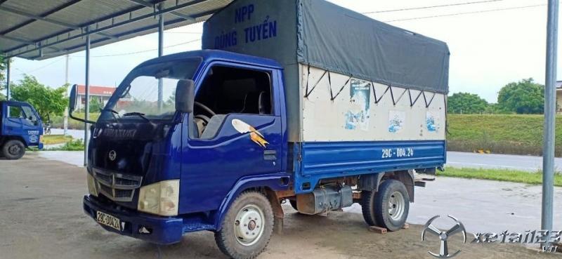 Cần bán gấp xe Vinaxuki 1 tấn đời 2010 thùng mui bạt giá 58 triệu
