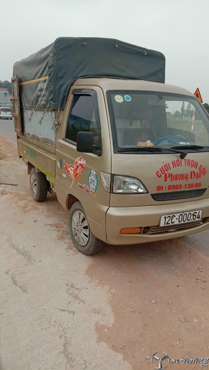 Rao bán xe Vinaxuki đời 2010 thùng mui bạt , sẵn xe giao ngay