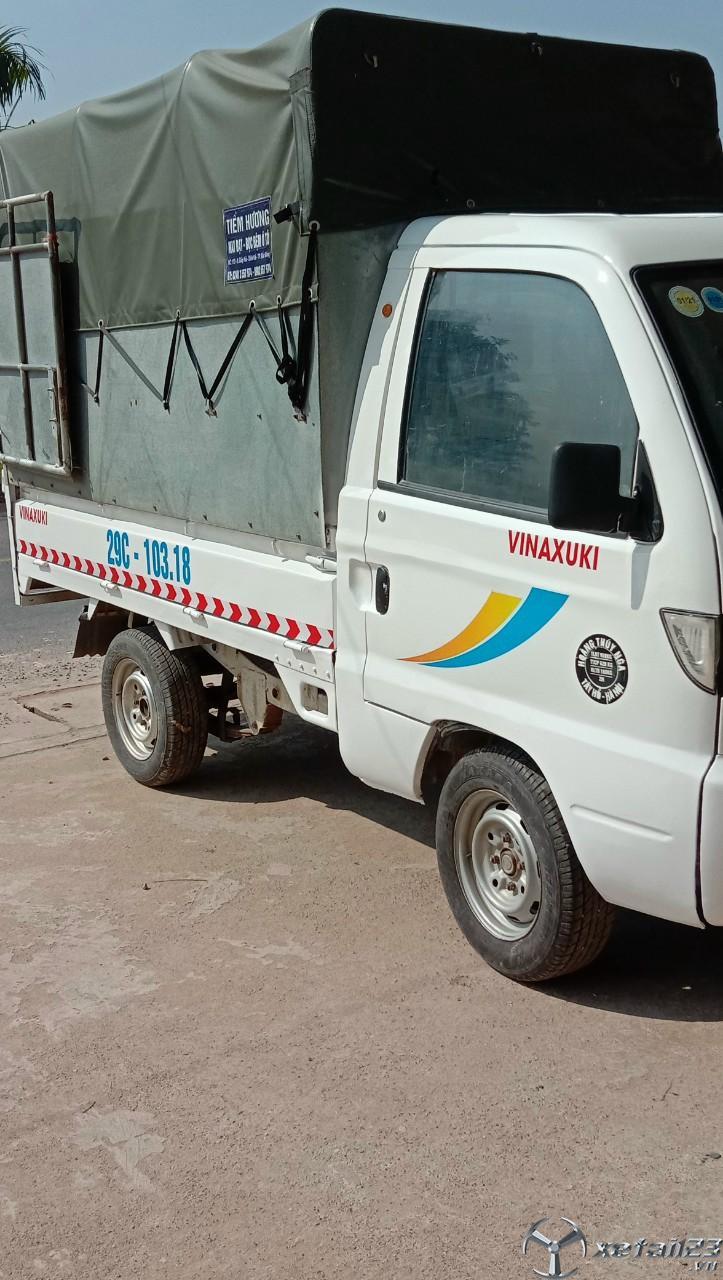 Thanh lý gấp xe tải Vinaxuki đời 2012 thùng mui bạt