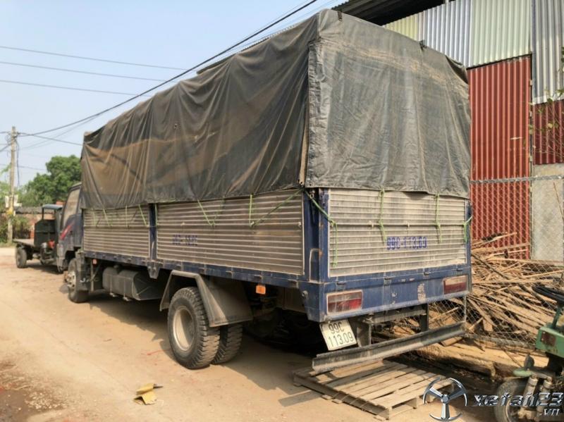 Bán xe JAC 7,25 tấn đời 2017 thùng mui bạt giá chỉ 400 triệu , sẵn xe giao ngay