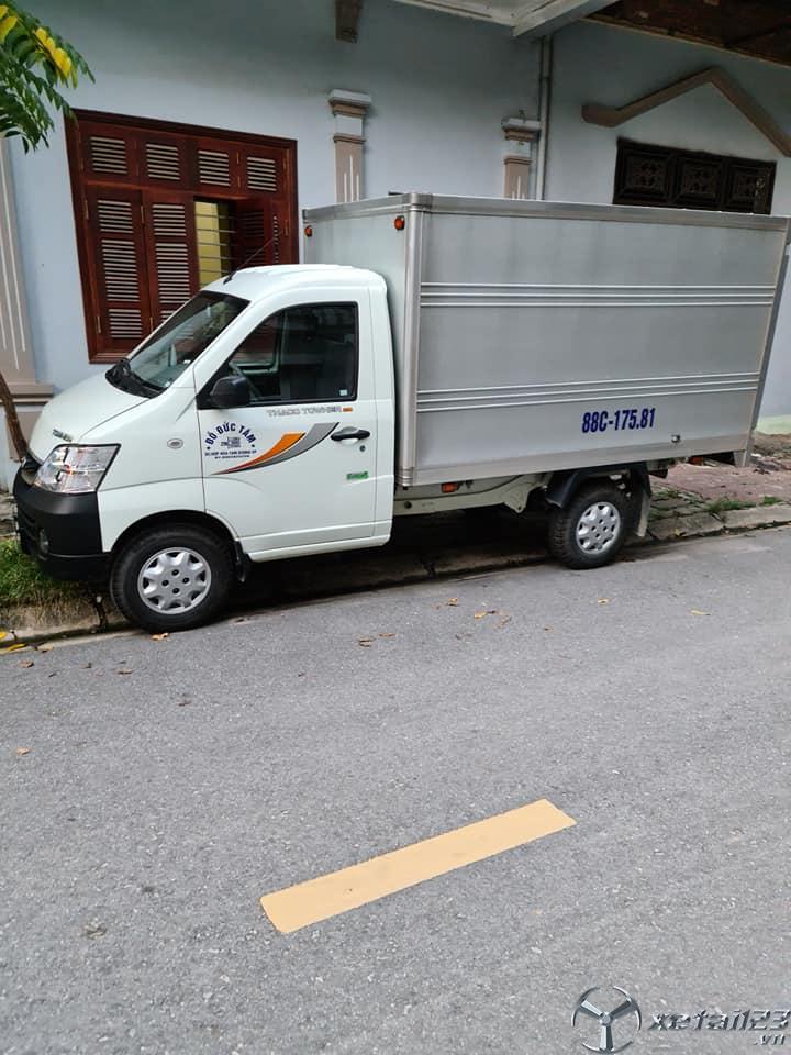 Cần bán xe Thaco Towner 1 tấn sx 2019  thùng kín giá 190 triệu