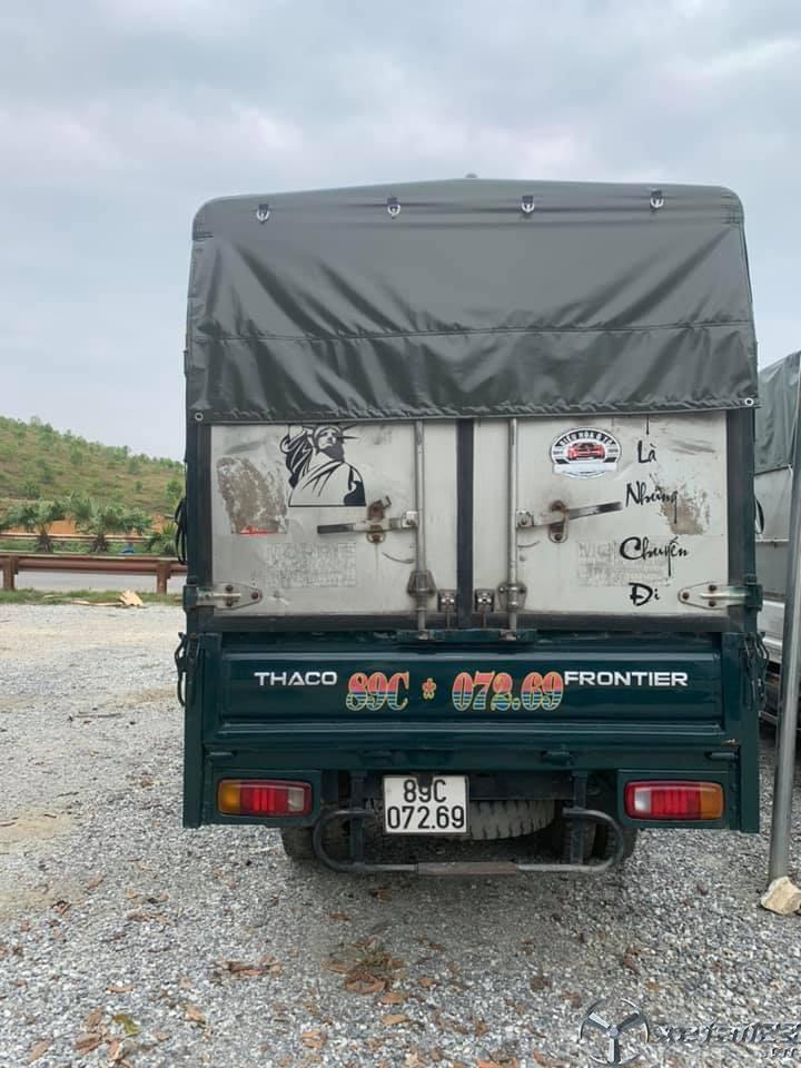 Cần bán gấp xe Thaco K165 đời 2015 thùng mui bạt giá 275 triệu