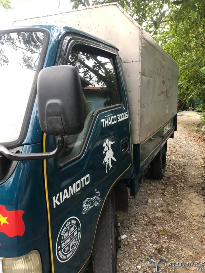Bán gấp xe Kia K3000S 1,4 tấn đời 2000 thùng kín giá 75 triệu