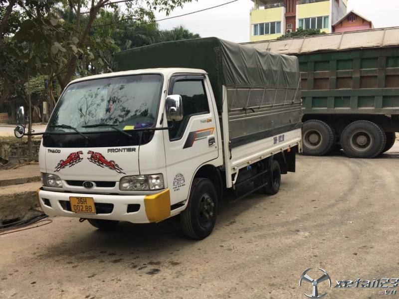 Rao bán xe Thaco K165 sx 2016 thùng mui bạt giá tốt nhất