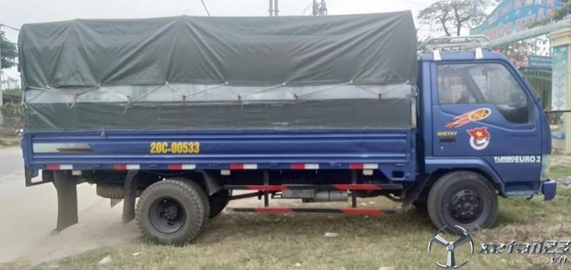 Thanh lý gấp xe Vinaxuki đời 2010 thùng mui bạt giá chỉ 78 triệu