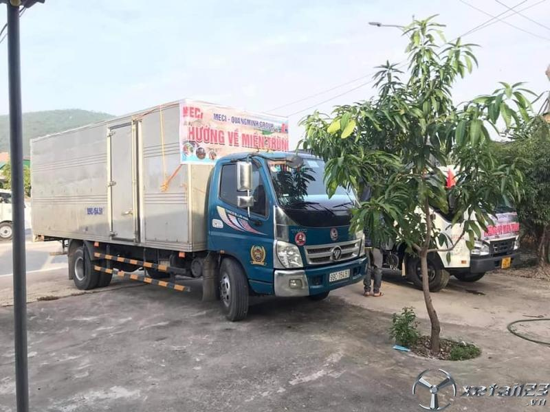Rao bán xe Thaco Ollin 450A đời 2015 thùng kín giá rẻ