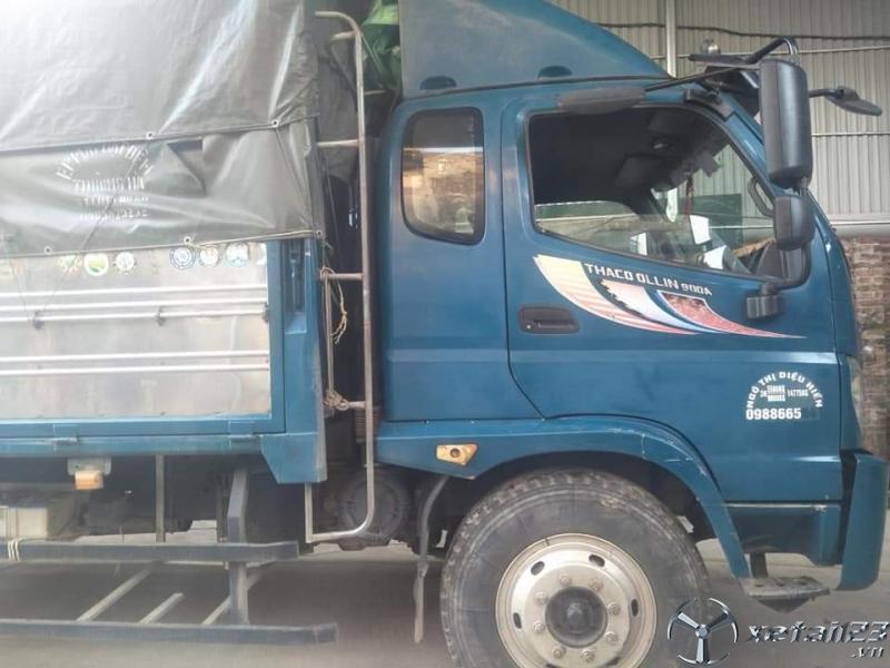 Bán xe Thaco Ollin 900A đời 2016 thùng mui bạt với giá chỉ 520 triệu