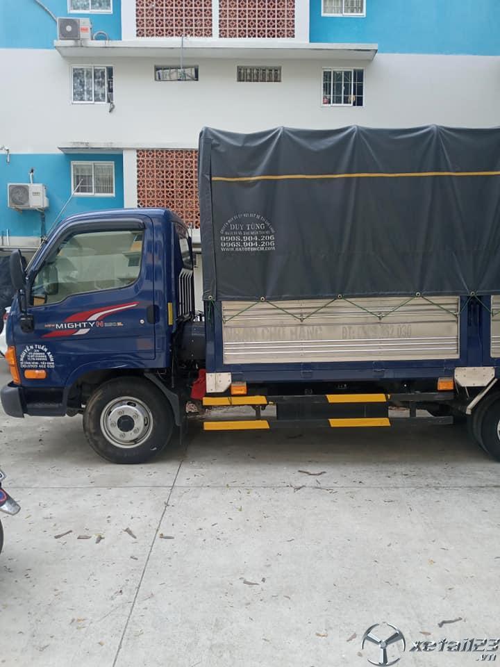 Xe Hyundai 2,4 tấn sx 2019 , đăng kí 2020 thùng mui bạt đã qua sử dụng cần bán giá 465 triệu