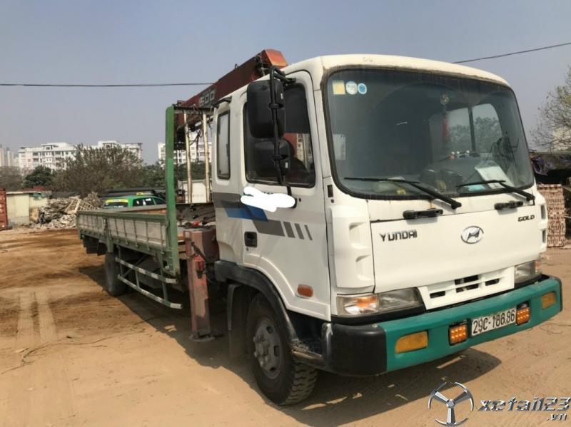 Cần bán gấp xe cẩu Thaco HC600 đời 2012