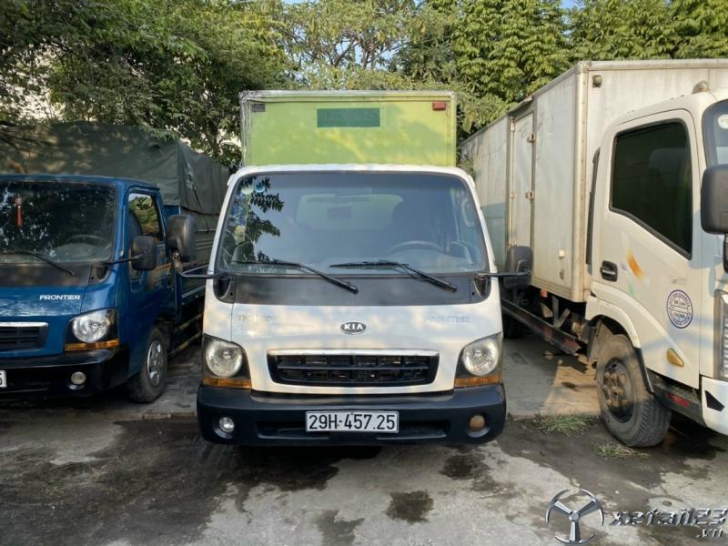 Cần bán gấp xe Kia K2700II 1 tấn đời 2009 phiên bản thùng kín