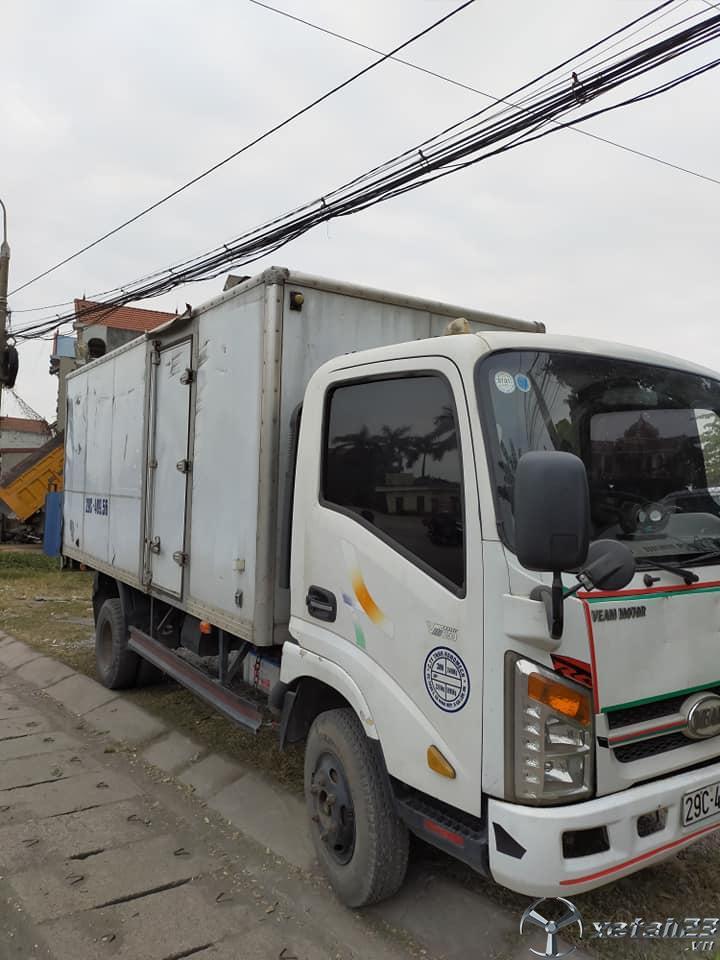 Xe Veam 2,5 tấn đời 2015 thùng kín đã qua sử dụng cần bán giá siêu rẻ chỉ 165 triệu