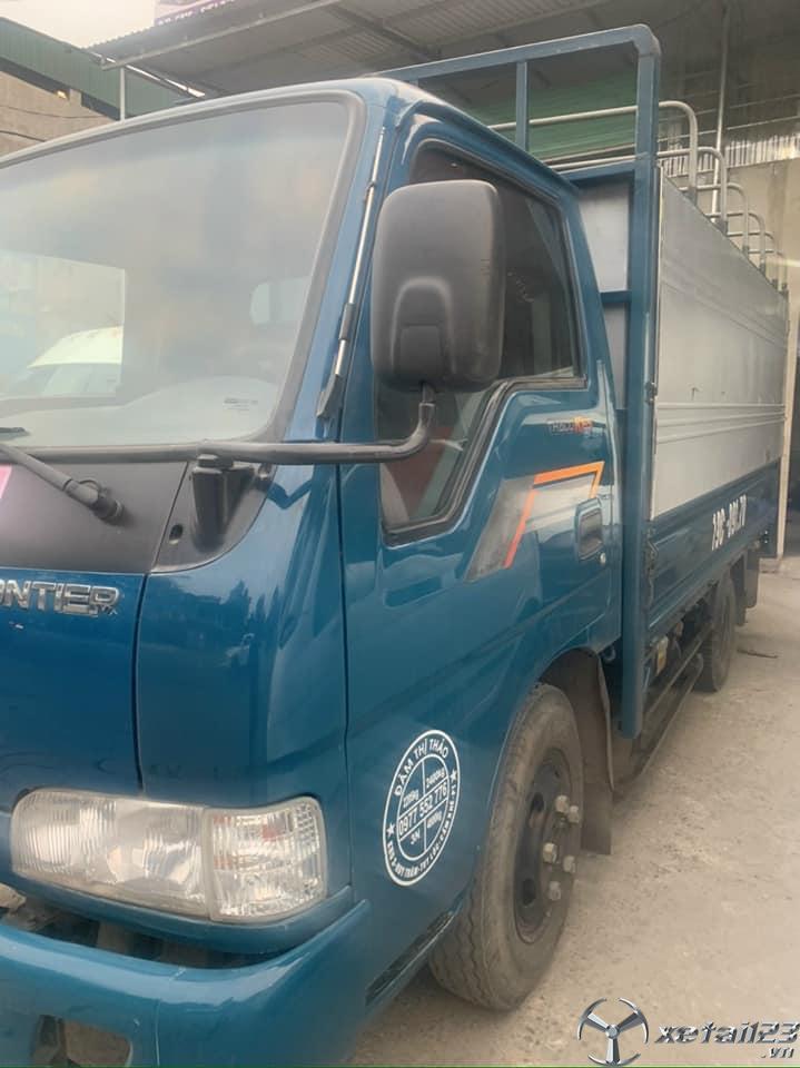 Bán xe Thaco K165 2,5 tấn sản xuất 2016 thùng mui bạt giá 310 triệu