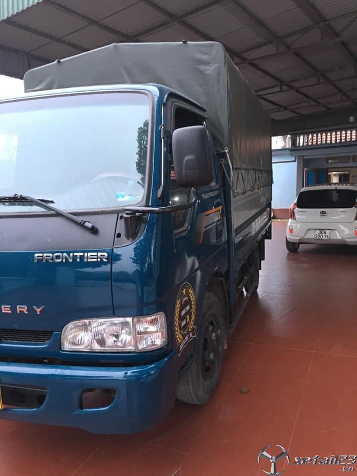 Bán Kia Frontier 1,4 tấn sản xuất 2015 thùng mui bạt giá 262 triệu