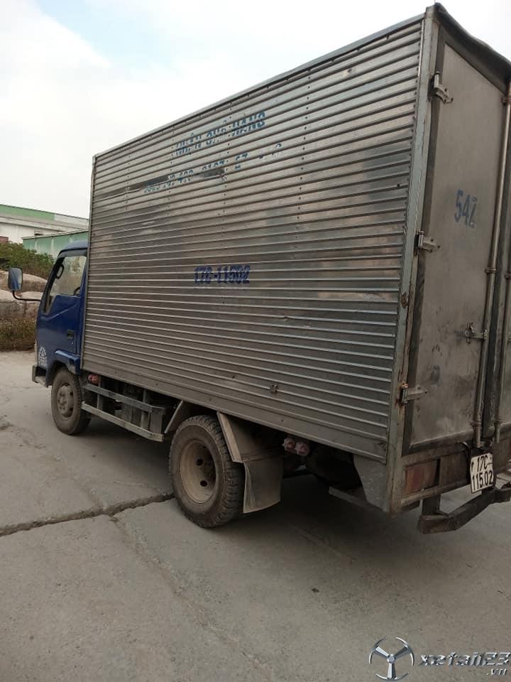 Thanh lý gấp xe Vinaxuki 1 tấn đời 2008 thùng kín giá 78 triệu