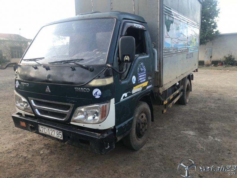 Bán Thaco 2,3 tấn sản xuất 2007 phiên bản thùng kín