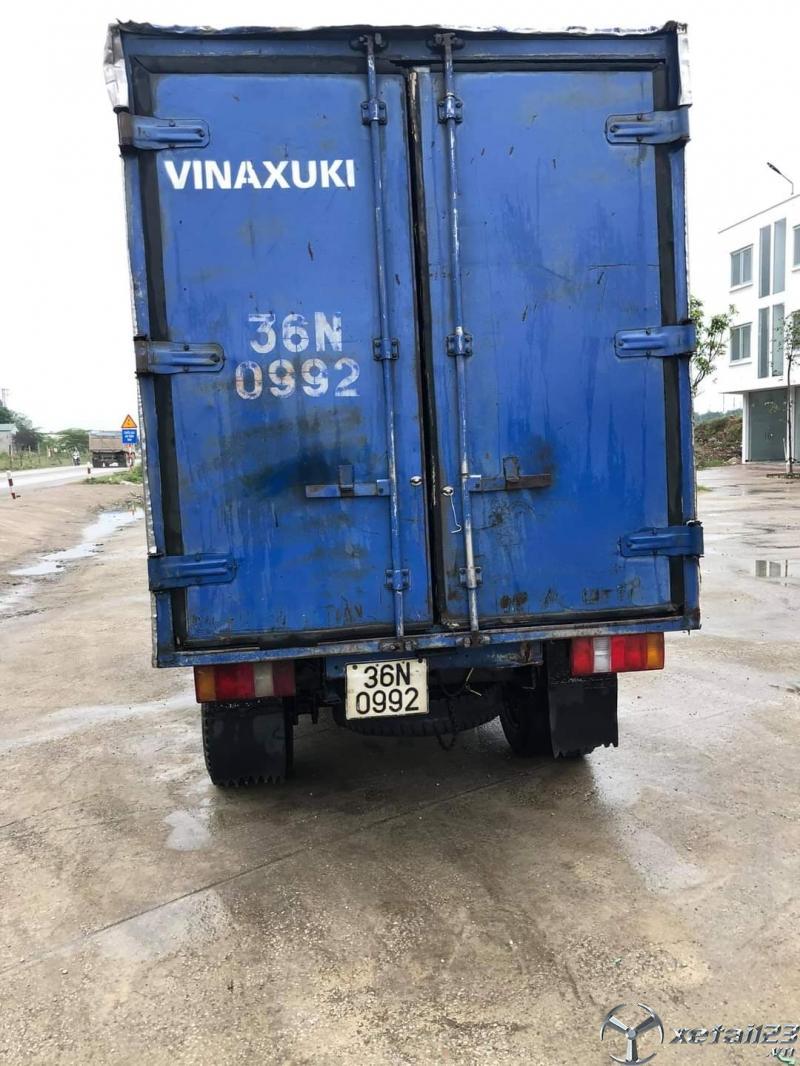 Thanh lý gấp xe Vinaxuki 5 tạ đời 2008 thùng kín giá 57 triệu