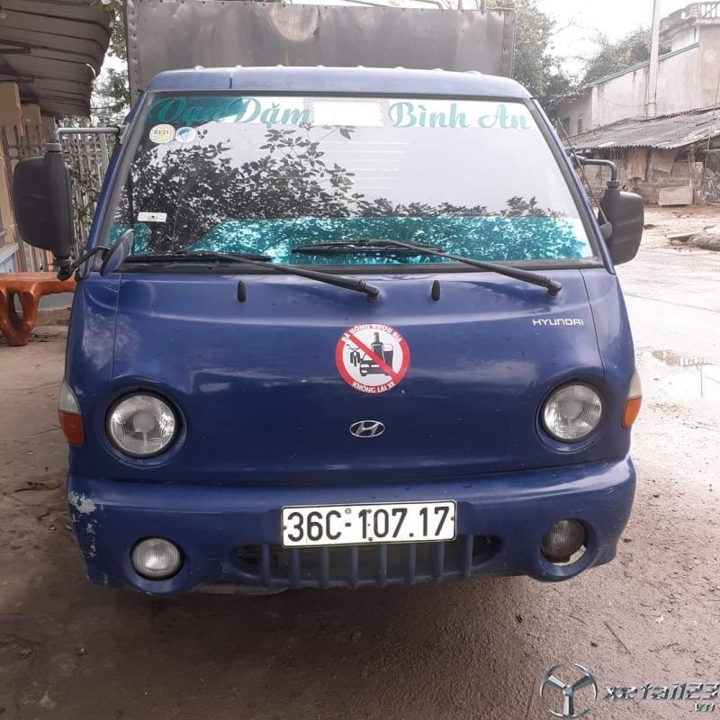 Rao bán xe Hyundai 1,25 tấn đời 2009 thùng kín giá 170 triệu