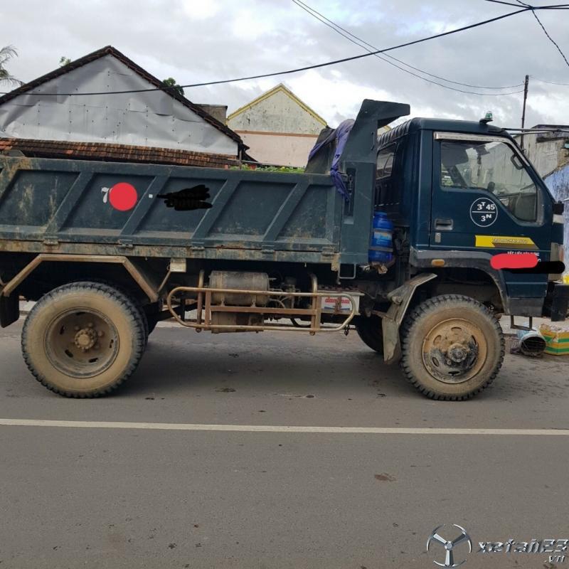 Cần bán xe ben Thaco FD 3,45 tấn đời 2008 với giá 70 triệu