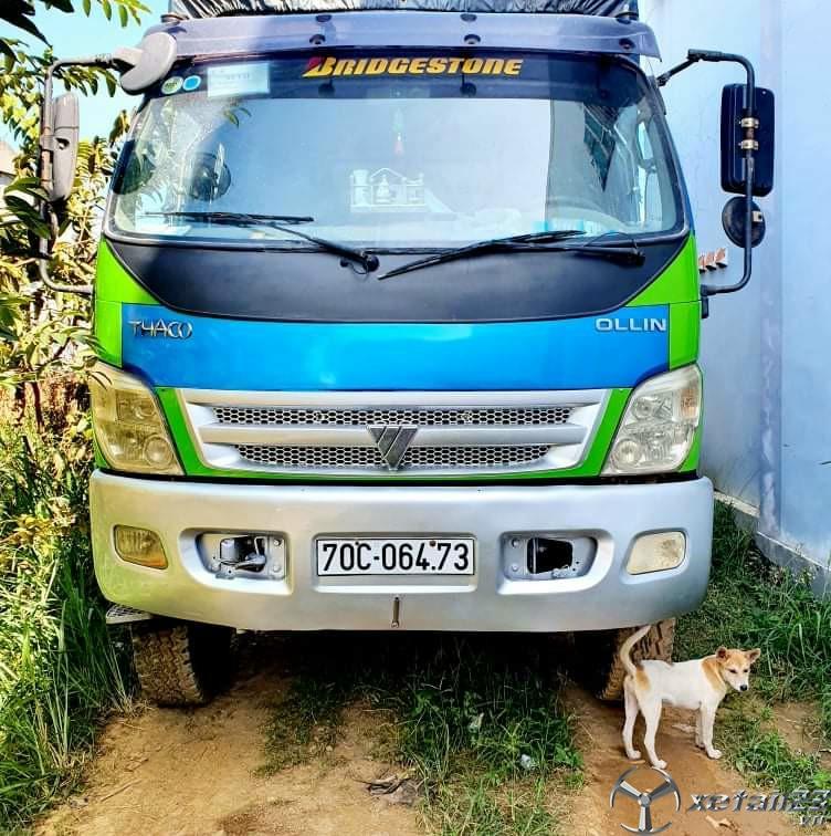 Xe Thaco Ollin 700B 6,4 tấn sản xuất năm 2010 thùng mui bạt cần bán giá tốt nhất