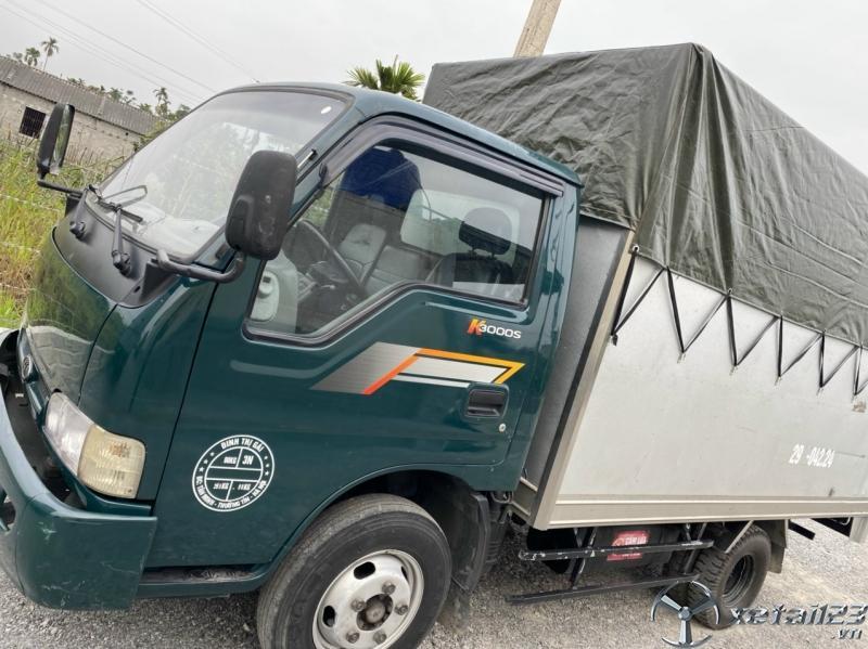 Rao bán xe Kia K3000S sản xuất năm 2010 phiên bản thùng mui bạt