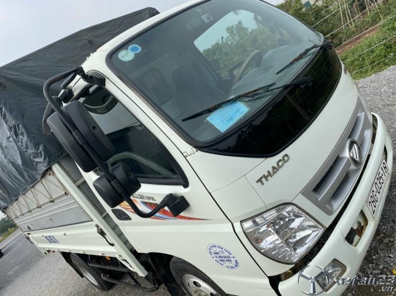 Rao bán xe Thaco Ollin 2,4 tấn sản xuất 2016 thùng mui bạt