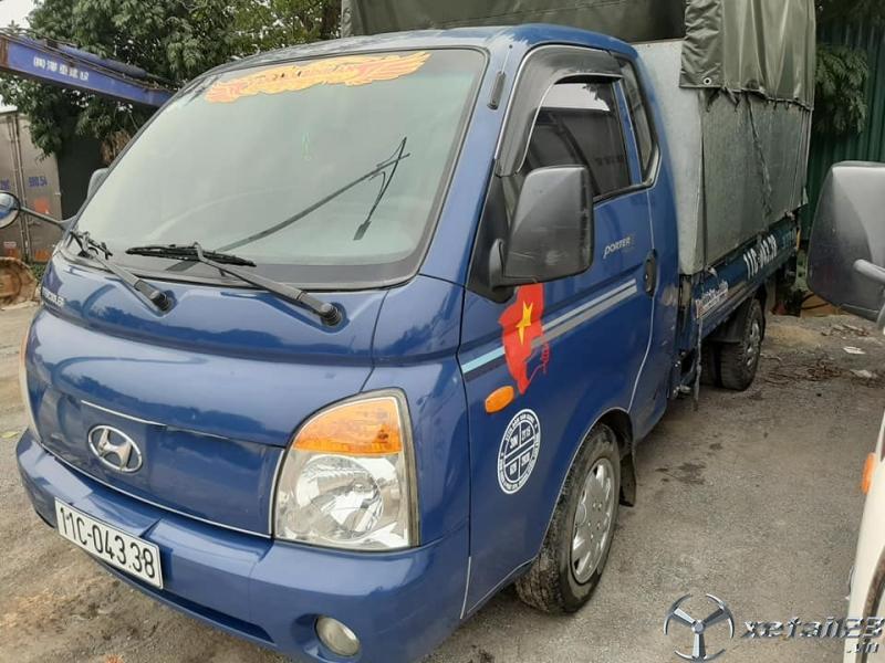 Thanh lý gấp xe Hyundai đời 2006 thùng mui bạt giá rẻ nhất