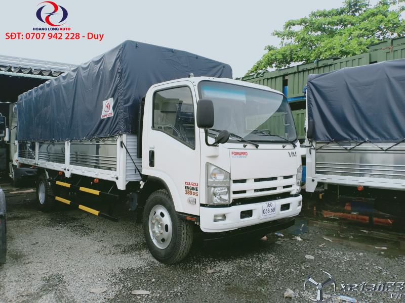Xe tải ISUZU VINHPHAT 1,4 - 17 tấn Động cơ: ISUZU