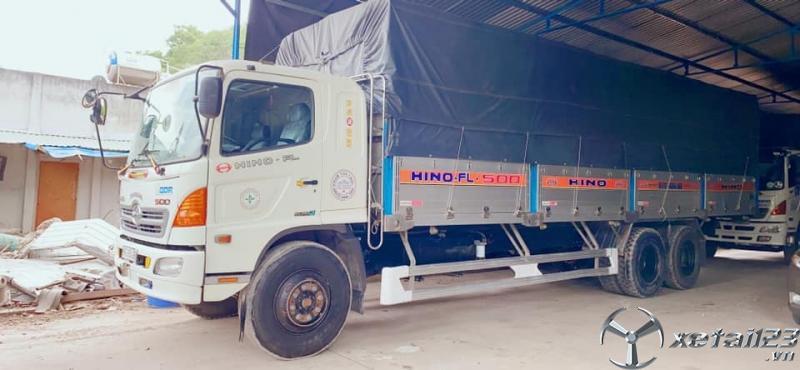 Cần bán xe Hino FL 14,7 tấn đời 2015 thùng mui bạt giá rẻ nhất