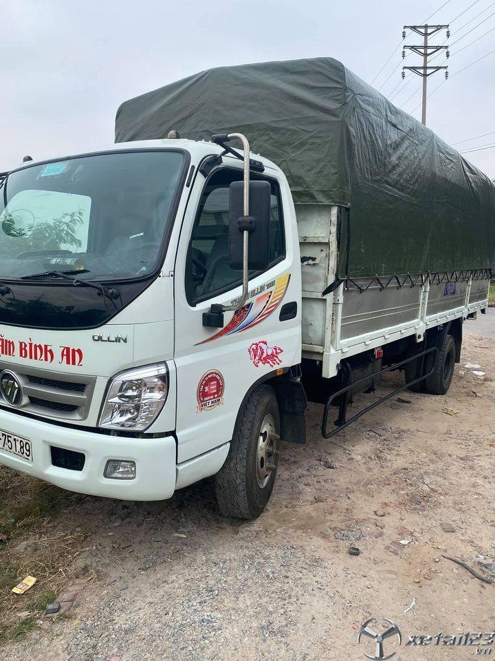 Bán xe Thaco Ollin 700B 7 tấn đời 2016 thùng mui bạt