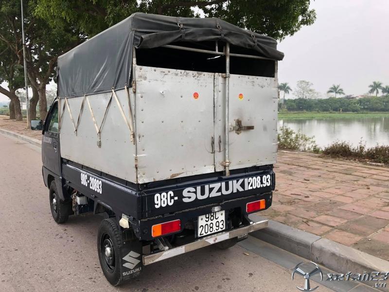 Bán xe tải Suzuki đời 2019 thùng mui bạt giá rẻ nhất , sẵn xe giao ngay
