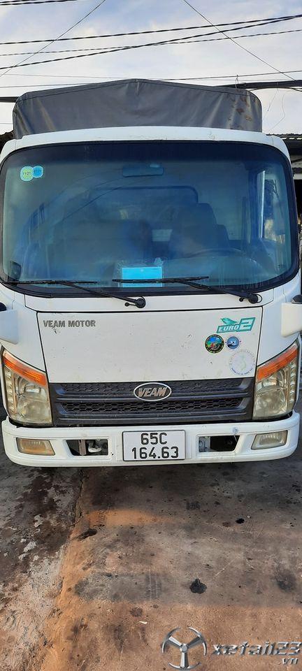 Xe Veam 2,4 tấn đời 2016 thùng mui bạt đã qua sử dụng cần bán giá 210 triệu , có thương lượng