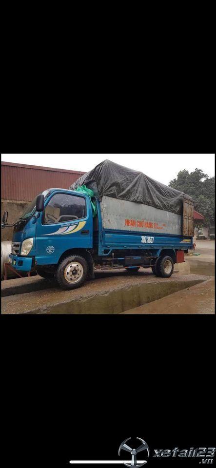 Thanh lý gấp xe Thaco Ollin 2,5 tấn đời 2010 thùng mui bạt giá chỉ 135 triệu