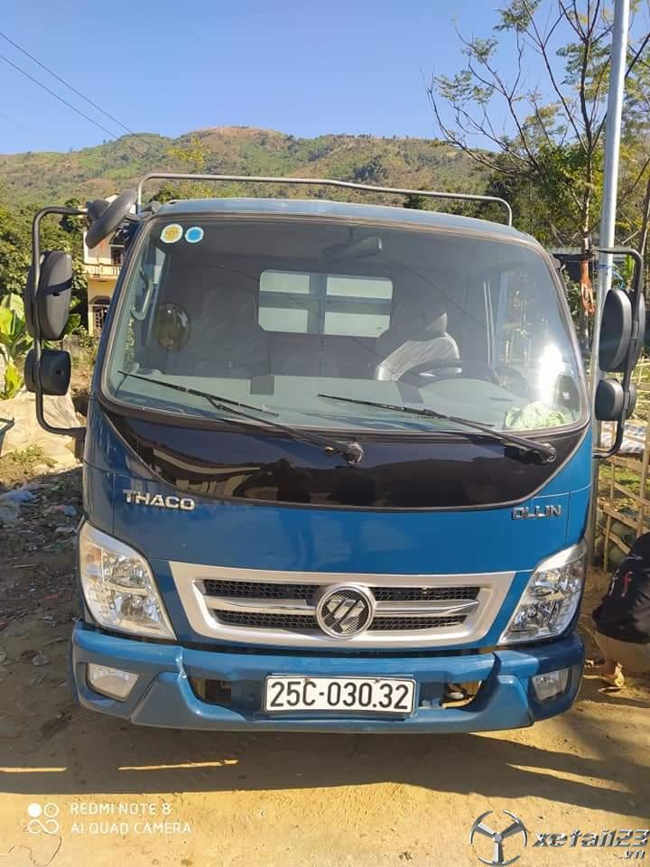 Bán Thaco Ollin 350B đời 2015 thùng mui bạt giá rẻ nhất